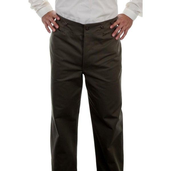 Scully Western Pants Mens Herringbone Vigilante Wahmaker