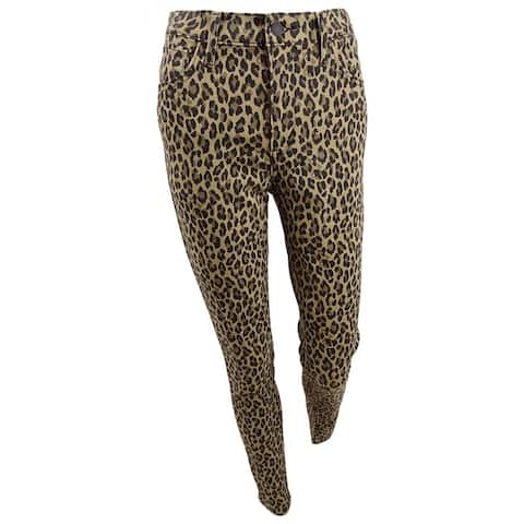 Levi's Women's 720 Animal Printed Skinny Jeans (28, Hypersoft Leopard Print) - 28