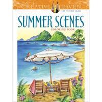 Dover Publications-Creative Haven: Summer Scenes