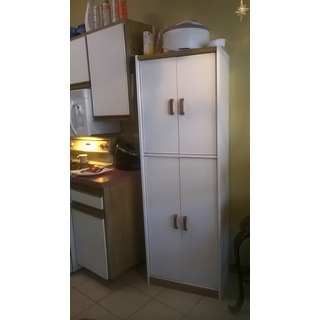 Altra Deluxe 72 Inch Kitchen Pantry Cabinet Free Shipping Today 18037045
