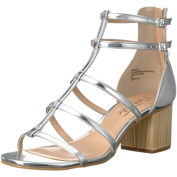 Nanette Lepore Womens Rebecca Open Toe Casual Strappy Sandals