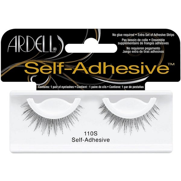 ed4362c47e7 Shop Ardell Self-Adhesive Eye Lashes, Black [110S] 1 ea - Free Shipping On  Orders Over $45 - Overstock - 12077238