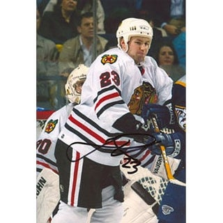 Jim Vandermeer Chicago Blackhawks Autographed 4x6 Photo This item comes with a certificate of authenticity from Autog