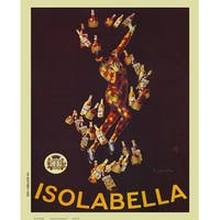 ''Isolabella'' by Leonetto Cappiello Vintage Advertising Art Print (20 x 16 in.)