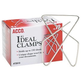 Universal 12Pk Large Paper Clamp