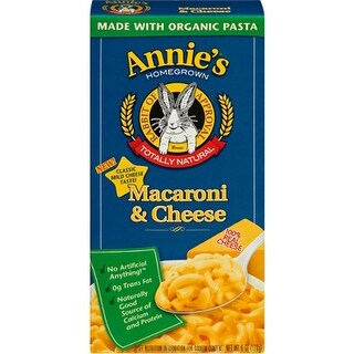 Annie's Homegrown - Classic Macaroni And Cheese ( 12 - 6 oz boxes)