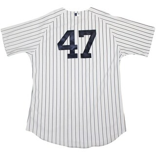 Ivan Nova Jersey NY Yankees 2015 Game Used 47 Pinstripe Jersey 82020150000005389Size 50