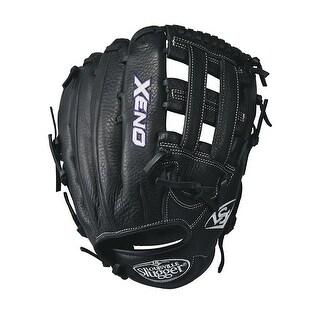 Louisville Slugger Xeno Softball Gloves -12.5 - Black/White (Right Hand Throw)