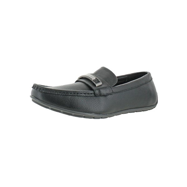 Calvin Klein Mens Irving Loafers Slip-On Casual