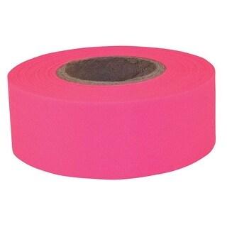 C.H. Hanson 17006 Sub Zero Flagging Tape, Pink, Plastic, 150'