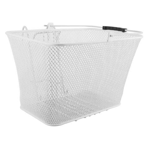 SUNLITE Basket Front Mesh L/O Dlx Wh14.5X8.5X7 W/Bracket