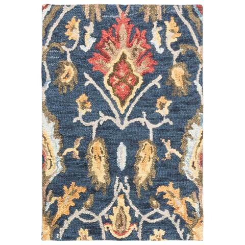 Safavieh Handmade Blossom Fiorello Modern Floral Wool Rug