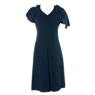 Valentino Women's Black Classic Mid Length Dress|https://ak1.ostkcdn.com/images/products/is/images/direct/5cb8eb91afeb34ffe0ae24917a3ea021d4f1614b/Valentino-Women%27s-Black-Classic-Mid-Length-Dress.jpg?impolicy=medium