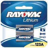 Rayovac Rl123A-2A 3-Volt Lithium 123A Photo Batteries (2 Pk)