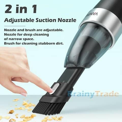 Portable Wet & Dry Handheld Vacuum for Pet Dog Hair - 9' x 12'