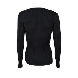 INC International Concepts Women's Ribbed Sweater Top