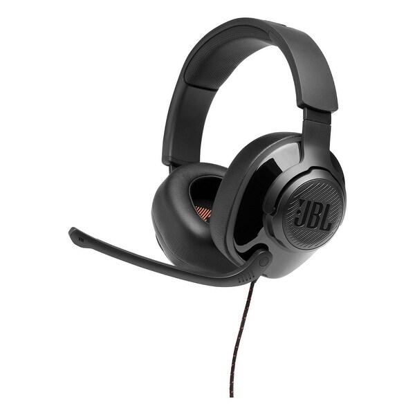 JBL Quantum 200 Over-Ear Gaming Headphones. Opens flyout.