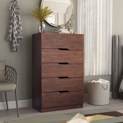 Furniture of America Marlone Contemporary 5-drawer Chest