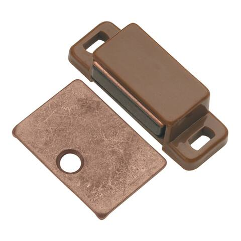 """Hickory Hardware P109 5/8"""" x 1-3/4"""" Magnetic Cabinet Catch"""