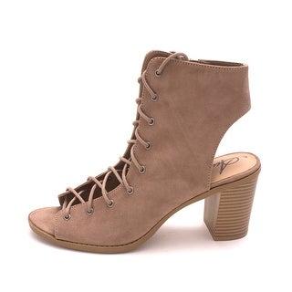 American Rag Womens Savanah Open Toe Ankle Fashion Boots