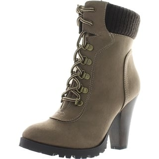 fb7c95ec6e87 Buy Soda Women s Boots Online at Overstock