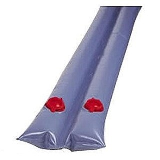 8' Dual Chamber Blue Water Tube for In-Ground Swimming Pool Winter Closing 20 Gauge