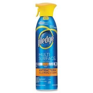 Pledge 72354 Multi Surface Antibacterial Cleaner, Citrus, 9.7 Oz.|https://ak1.ostkcdn.com/images/products/is/images/direct/5cc05b1788b244fab18848565e0cc0029788920f/Pledge-72354-Multi-Surface-Antibacterial-Cleaner%2C-Citrus%2C-9.7-Oz..jpg?impolicy=medium