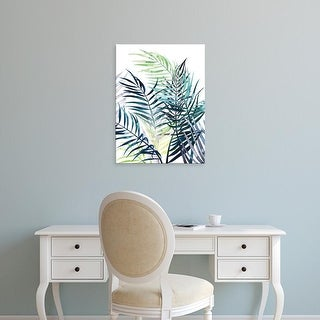 Easy Art Prints Grace Popp's 'Twilight Palms I' Premium Canvas Art