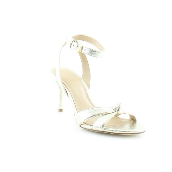 MICHAEL Michael Kors Maxwell Dress Sandal Women's Sandals & Flip Flops Pale Gold - 5.5