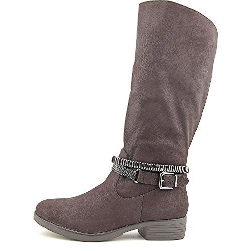 Style & Co. Womens Wardd Closed Toe Mid-Calf Motorcycle Boots