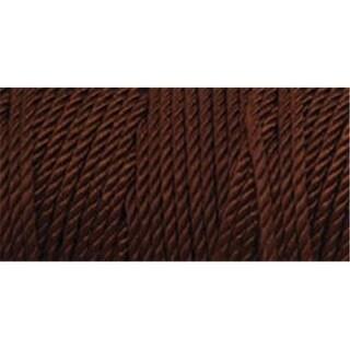 Iris 418072 Nylon Thread Size 2 275 Yards-Chocolate Brown
