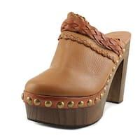 Sixtyseven 77537 Women Cuero/Brandy Mule Slides