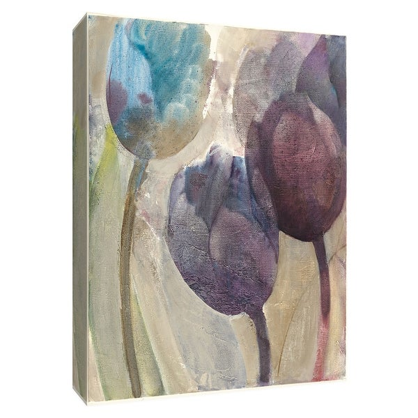 "PTM Images 9-154703 PTM Canvas Collection 10"" x 8"" - ""Purple Dream II"" Giclee Flowers Art Print on Canvas"