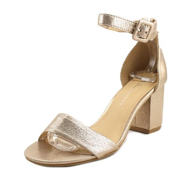 f2c33b9b5 Shop CL By Laundry Jody Women Open Toe Synthetic Gold Sandals - Free ...