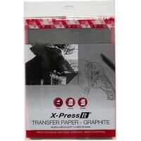 Transfer Paper A4 20/Pkg-Graphite