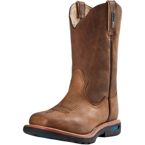 67fe2494d8c Shop Cinch Work Boots Mens WRX CT Safety Toe Leather Brown - Free ...
