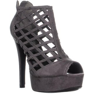 G by GUESS Chentel Platform Heels, Gray - 8.5 us