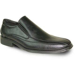 BRAVO Men Dress Shoe MILANO-7 Loafer Black