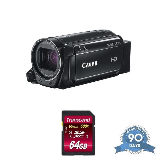 Canon VIXIA HF R800 Camcorder (Black) - with Memory Card -