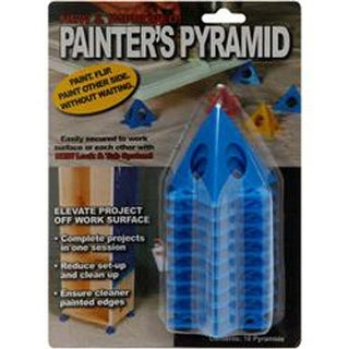 Blue - Painter's Pyramid Stands 10/Pkg