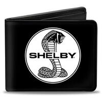 Shelby Tiffany Split + Signature Black White Bi Fold Wallet - One Size Fits most