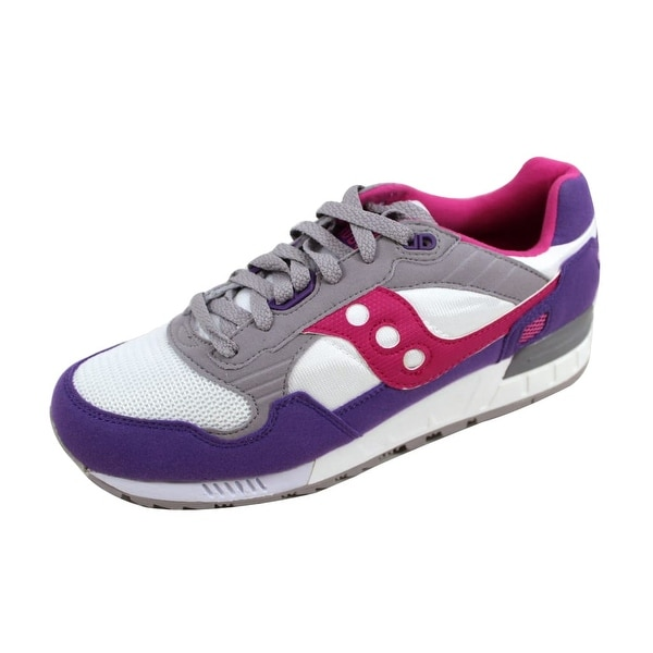 Saucony Women's Shadow 5000 White/Purple S60033-66