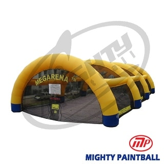 Mighty Paintball - Megarena (100'x50') Basic Package - Yellow Color (MP-MA-1001)