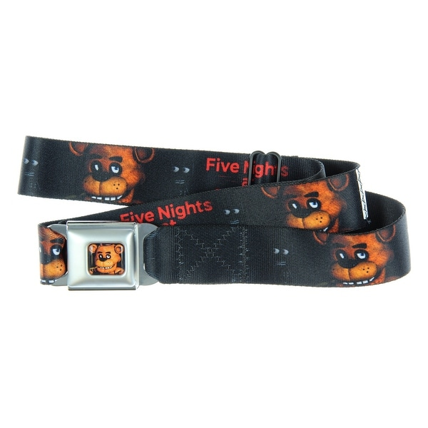 Five Nights At Freddy's Seatbelt Belt-Holds Pants Up - One Size Fits most
