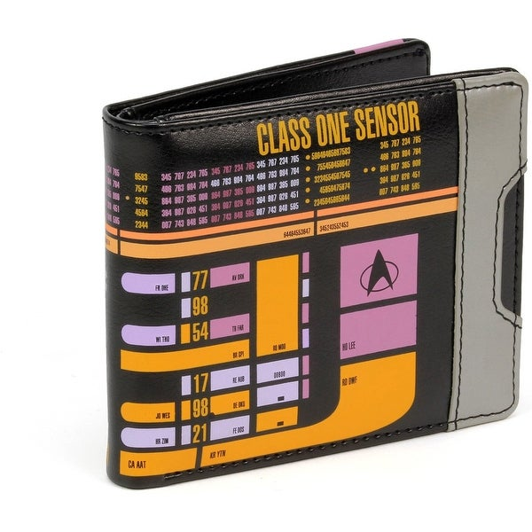 Star Trek: The Next Generation LCARS Men's Bifold Wallet - Multi