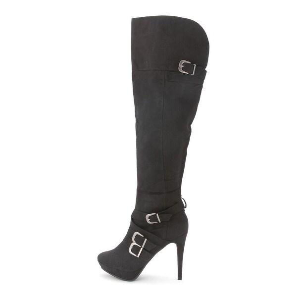 XOXO Nicki Synthetic Knee High Boot