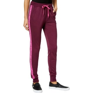 Jessica Simpson Womens Juniors Sweatpants Logo Drawstring