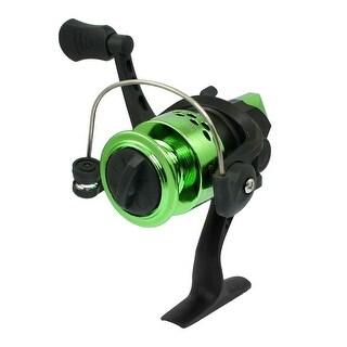 Unique Bargains CK200 5.2:1 Gear Ratio 3 Ball Bearings Spinning Reel Fishing Reel Green Black