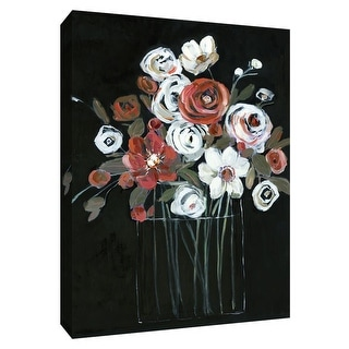 "PTM Images 9-148719  PTM Canvas Collection 10"" x 8"" - ""Chiaroscuro I"" Giclee Flowers Art Print on Canvas"