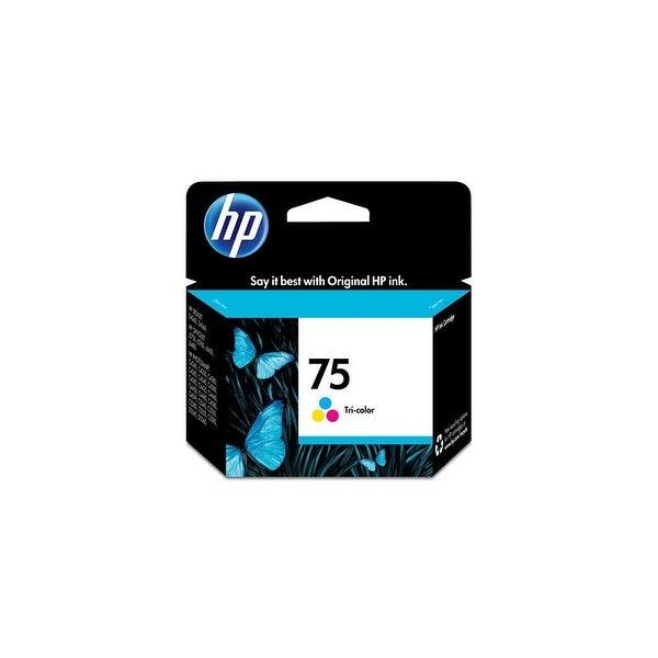 HP 75XL High Yield Tri-color Original Ink Cartridge (CB338WN)(Single Pack)